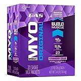 EAS Myoplex Original Protein Shake Mix Packets, Strawberry Cream, 2.7 oz packets, 20 servings