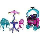 Monster High Travel Scaris Café Cart