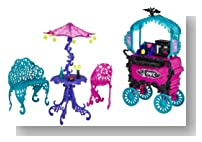 Monster High Travel Scaris Caf? Cart