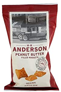 H.K. Anderson Peanut Butter Filled Pretzel Nuggets, 8oz