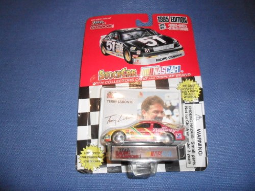 1995 NASCAR Racing Champions . . . Terry Labonte #5 Kellogg's Chevy Monte Carlo 1/64 Diecast . . . Includes Collector's Card & Display Stand - 1