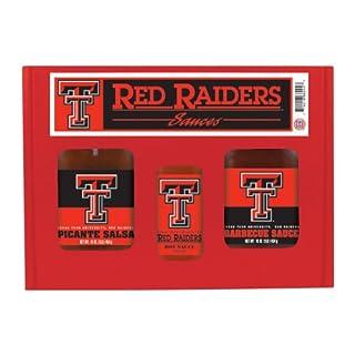 TEXAS TECH Red Raiders TailGate Hot Sauce BBQ Salsa