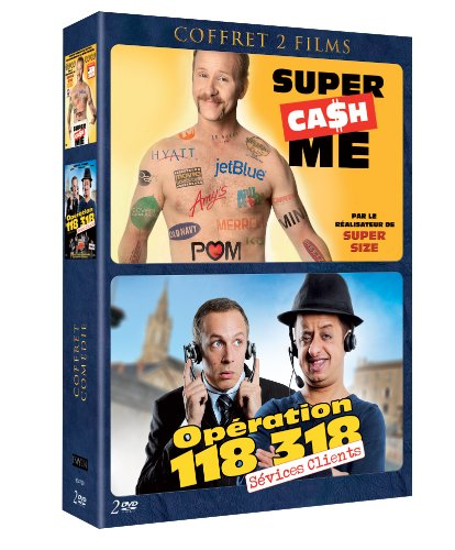 Coffret comedie - operation 118 318 & super ca$h me
