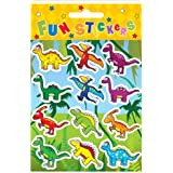 6 Packs Mini Dinosaur Stickers Boys Party Loot Bag Fillers