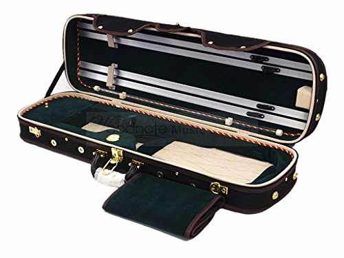 Woodnote VC-950G Pro. Wooden 4/4 Violin Case Fit Body Length of 355mm