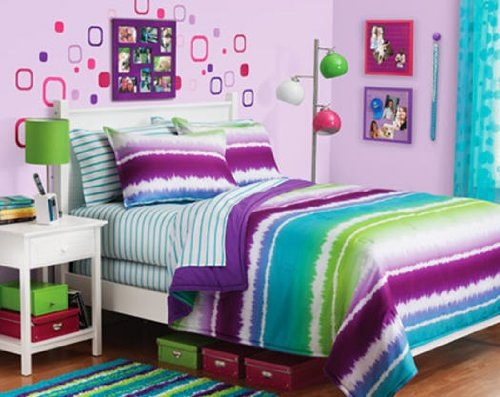 Blue And Green Bedding