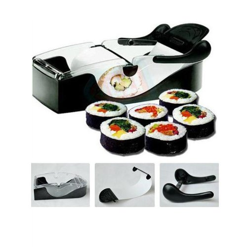 Kingzer Kitchen Perfect Magic Roll Diy Easy Sushi maker Cutter Roller Machine Gadgets