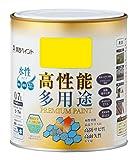カンペハピオ プレミアム水性塗料 黄色 0.7L
