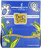 Endangered Species Bug Bites, Organic Milk Chocolate, 0.35-Ounce Packages (Pack of 64)