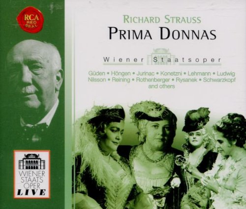 Richard Strauss Prima Donnas by Richard [1] Strauss, Heinz Wallberg, Herbert von Karajan, Josef Krips and Joseph Keilberth