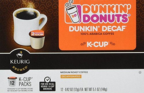 Dunkin Donuts K-Cups Decaf - 48 Count (Keurig Dunkin Donuts Decaf compare prices)