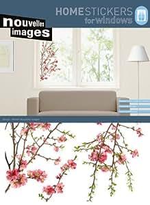 amazon com home stickers apple tree decorative window