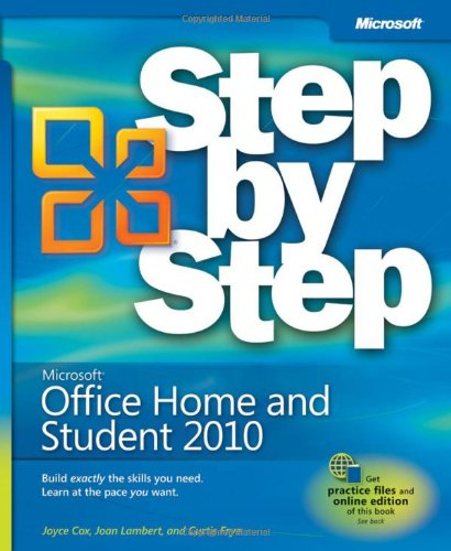 Microsoft Office Home & Student 2010 Step by Step (Step by Step (Microsoft))