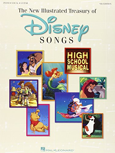 the-new-illustrated-treasury-of-disney-songs-piano-vocal-guitar