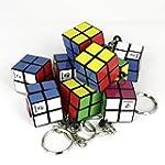10 pcs. of Keychain Magic Cubes 2x2 -...