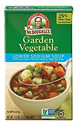 Dr. McDougall\'s Right Foods Lower Sodium Garden Vegetable Soup, 17.9 Ounce (Pack of 6)