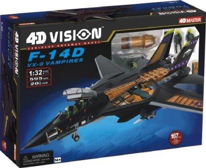 1/32 VISIBLE 4D F14D VX9 VAMPIRE AIRCRAFT CUTAWAY KIT