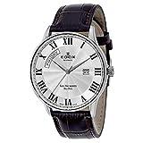 Edox Les Vauberts Day Date Automatic Men's Automatic Watch 83010-3B-AR