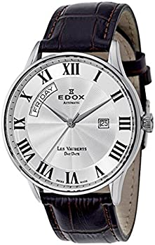 Edox Les Vauberts Day Date Men's Watch