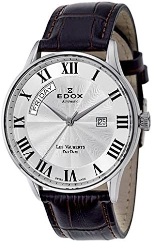 Edox Les Vauberts Day Date Men's Watch