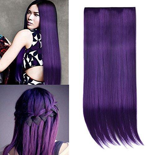 ombre dipdye color clip in hair extension 5560cm length