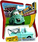 Disney Pixar P7028 Cars Lenticular Eyes #18 Brand New Mater 1:55 Diecast Vehicle Car