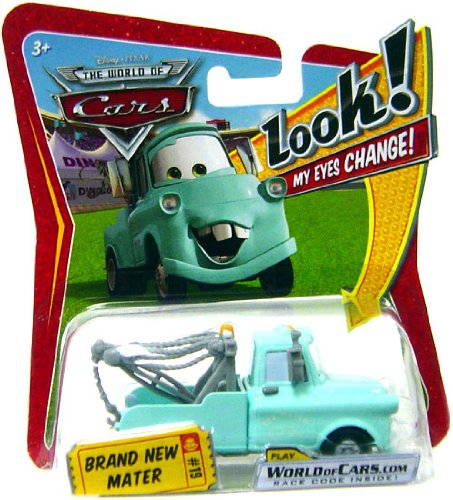 Disney/Pixar Cars Lenticular Eyes Series 1 Brand New Mater #15 1:55 Scale - 1