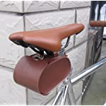 Handmade Leather PU England Vintage Bike Seat Saddle Tail Tools Bag, to match BROOKS Cushion Size 13*10.5*7cm