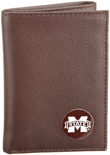 Danbury Men's Mississippi State Trifold Wallet