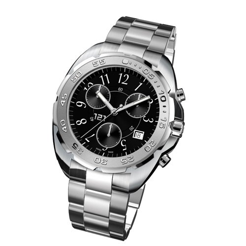 121TIME watch-Challenger Chronograph Metal Black-Swiss made - Buy 121TIME watch-Challenger Chronograph Metal Black-Swiss made - Purchase 121TIME watch-Challenger Chronograph Metal Black-Swiss made (121TIME, Jewelry, Categories, Watches, Men's Watches, By Movement, Swiss Quartz)