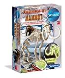 Clementoni 69406.8 - Galileo - Ausgrabungsset Mammut fluoreszierend, Experimentierkaesten von Clementoni