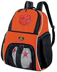 Clemson Soccer Ball Backpack Clemson Tigers Bag Official Backpacks