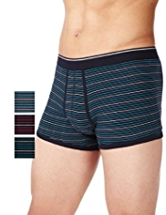 3 Pack Cool & Fresh™ Stretch Cotton Assorted Hipsters with StayNEW™