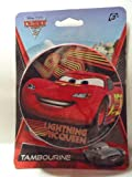 Cars 2 Lightning Mcqueen Tambourine
