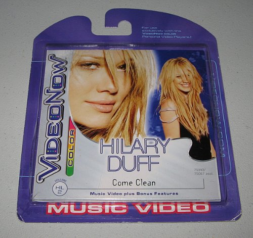 "Videonow Personal Music Video Disc: Hilary Duff - ""Come Clean"""