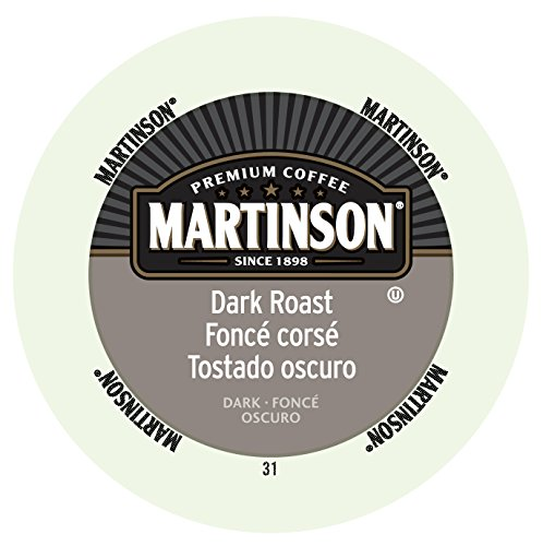 Martinson Coffee, Dark Roast, 24 Single Serve RealCups (Martinson Coffee Can compare prices)