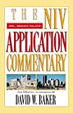 Joel, Obadiah, Malachi (The NIV Application Commentary)