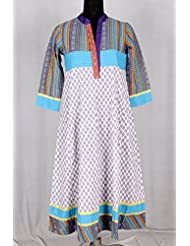 IndiWeaves Summer Special Cotton Kurti - B00MXPCXM8