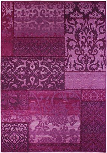 andiamo 1100359 teppich classique 80 x 150 cm ornament lila. Black Bedroom Furniture Sets. Home Design Ideas