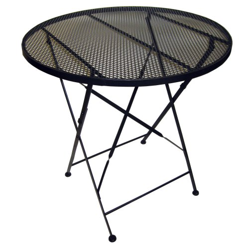 Pangaea Folding Patio Table with Mesh Iron Top
