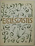 Ecclesiastes, or, The Preacher (0670288187) by Ben Shahn