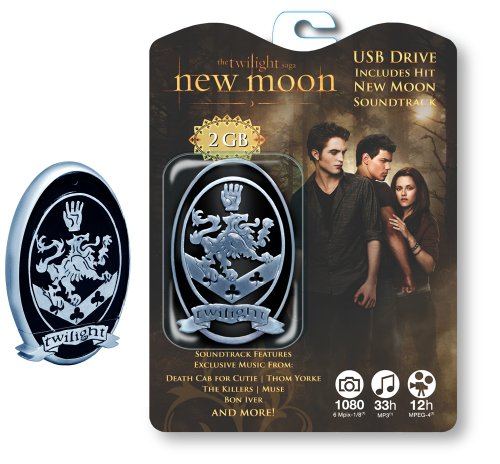 Tymemachines Powered by Funko Twilight New Moon Soundtrack 2 Gb Usb Flash Drive