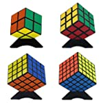 Magic Cube Puzzle Bundle Pack(2x2x2,3...