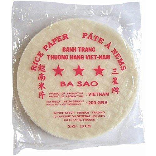 Ayam - Galettes de riz, pâte à nems - Le sachet de 200g - (pour la quantité plus que 1 nous vous remboursons le port supplémentaire)
