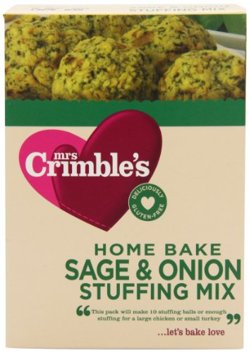 Mrs Crimbles Sage and Onion Stuffing Mix 170 g (Pack of 3)