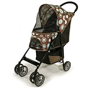 Gen7Pets Journey Pet Stroller, Blue Bonnet