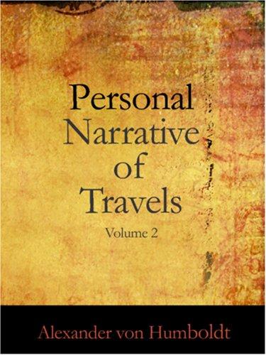 个人叙事的旅行到美国,秋分地区 1799年-1804 年