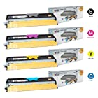 LD © Compatible Konica Minolta MagiColor 1600W Set of 4 High Yield Laser Toner Cartridges: 1 Black A0V301F, Cyan A0V30HF, Magenta A0V030CF, Yellow A0V306F