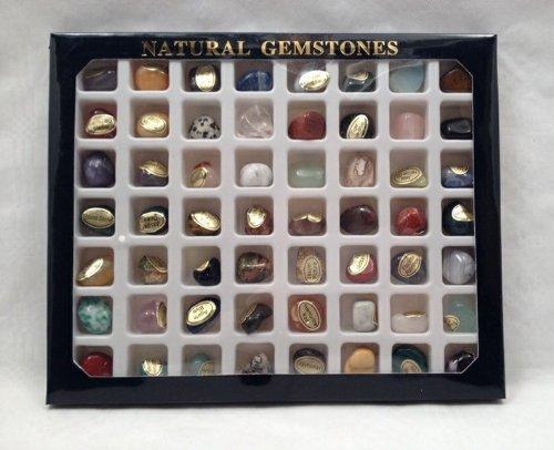 1 kg bunte trommelstein mischung 1 kg ca 130 150 steine ca 1 3 cm nr 2359 mit. Black Bedroom Furniture Sets. Home Design Ideas