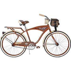"26"" Huffy Panama Jack Men's Cruiser Bike, Root Beer"